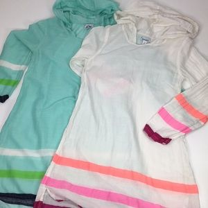 Old Navy Lightweight Hooded Sweatshirts Set of 2 L